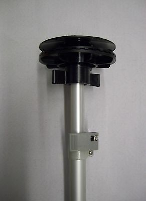 Support Pole for Boat Covers with Vent Cap