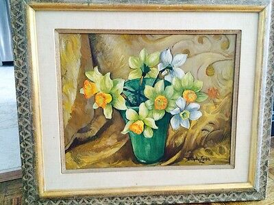 Richard Hayley Lever oil on panel Painting. Fine Art.    16x20.   1946
