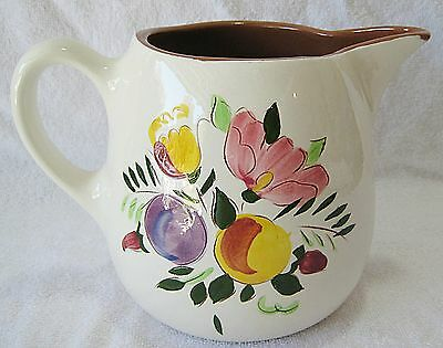 STANGL FRUIT AND FLOWERS 1 QUART PITCHER