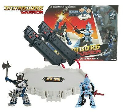 Battroborg Warrior Knight vs Viking Battle Arena. Robot Action Fighting Game NEW