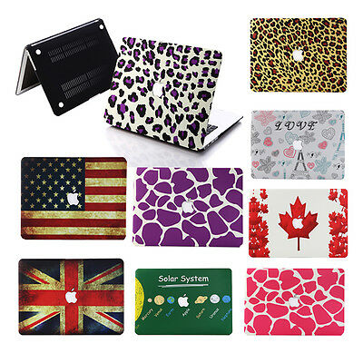 """Pattern Design Rubberized Hard Case Cover For Macbook Air11""""13""""/ Pro 13""""15""""inch"""