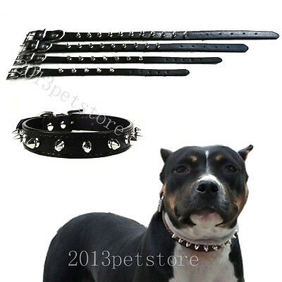 Puppy collar spiked small pet dog collars Croc leather cat Necklace 11 colors