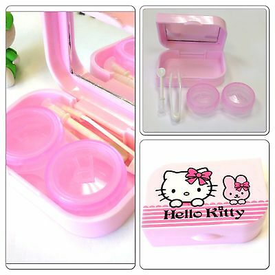 Very Cute Hello Kitty Mini Contact Lens Case - Great Gift