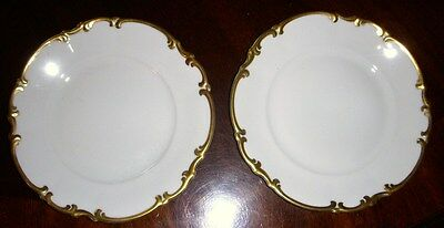 2 HUTCHENREUTHER BRIGHTON BREAD & BUTTER PLATES mint
