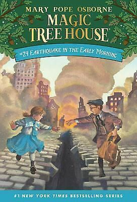Earthquake in the Early Morning (Magic Tree House #24) (A Stepping Stone Book(TM