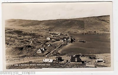 Scotland, Shetland, Voe, General View, Rp
