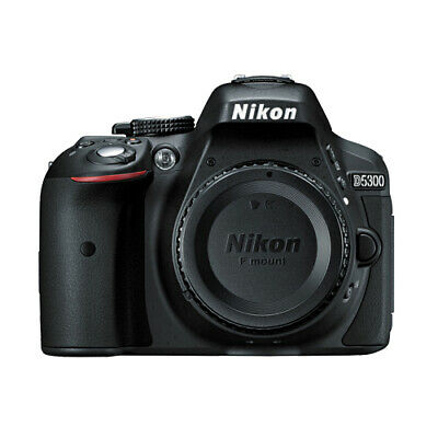 Nikon D5300 24.2 MP CMOS Digital SLR Camera w/ Built-in Wi-Fi and GPS Body Black