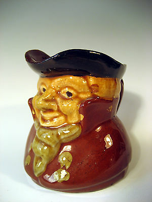 Very Fine English Pottery Character Head Pitcher ca. 19th c.
