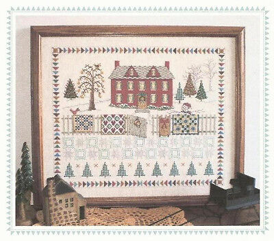 Home for Christmas - Counted Cross Stitch Pattern - Linda Myers Designs
