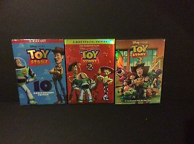 Toy Story Dvd Trilogy: Sale Pricing... Great Value... Bid Now