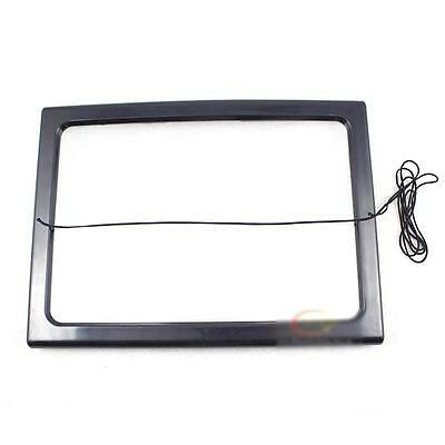 New LED Light Desk Type Magnifying Glass Magnifier For Sewing Knitting Reading