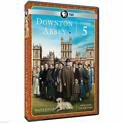 Downton Abbey: Season 5 (DVD, 2015, 3-Disc Set) Pre order 1/27/2015 Release