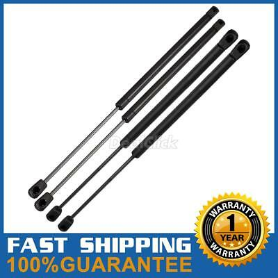 Front Hood&Rear Window Lift Support kit Shock Strut For Jeep Liberty WGS-126