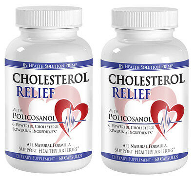 Cholesterol Lowering (2 Bottles, 120 Capsules)