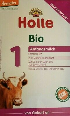 4-boxes of Holle Organic infant Formula Stage-1  priority Shipping EXP-6/2019