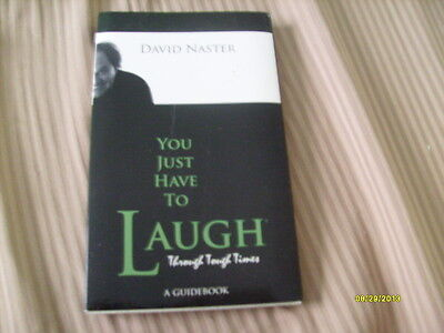 DAVID NASTER SIGNED REAL AUTOGRAPHED BOOK