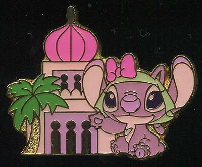 TDS TDL Tokyo - Game Prize - Arabian Building Angel - Japan Disney Pin 69429