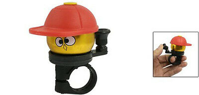 Gift Xmas Gold Tone Red Hatted Cartoon Boy  Alloy Housing Bike Bicycle Bell Ring