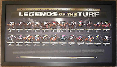 Legends Of The Turf Greatest Horse Racing Vain,makybe Diva,sunline,black Caviar
