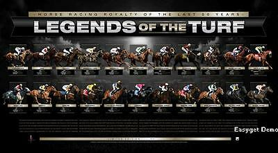 The Greatest Horse Racing Makybe Diva,sunline,black Caviar Melbourne Cup Print