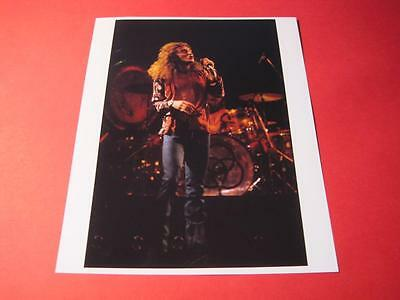 LED ZEPPELIN ROBERT PLANT 10x8 inch lab-printed glossy photo P/1867