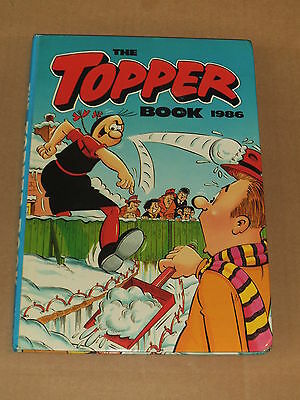 THE TOPPER BOOK ANNUAL (1986) Near Excellent Condition