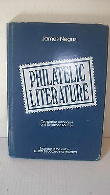 Philatelic Literature Compilation Techniques Reference Sources Negus Stamps