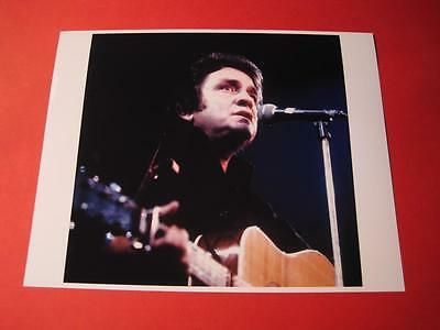 JOHNNY CASH  10x8 inch lab-printed glossy photo P/1774