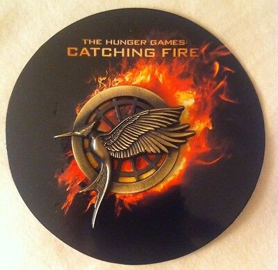 HUNGER GAMES CATCHING FIRE Mockingjay Promotional Pin