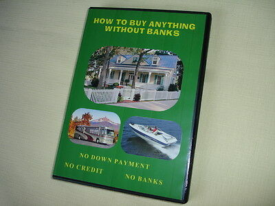 BB6  HOW TO BUY ANYTHING- WITHOUT BANKS  MONEY FINANCE ESTATE CREDIT