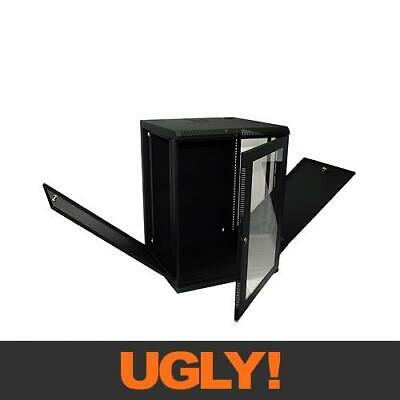 "14U 14RU Server Network Data Rack LAN Cabinet 19"" 19 Inch Wall Mount 508mm Deep"