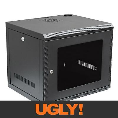 "8U 8RU 19"" Wall Mount Rack Cabinet450mm Deep WC8U"