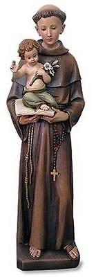 """48"""" St Anthony Saint Statue Handmade Chruch Chapel Display Home Decor from MRT"""