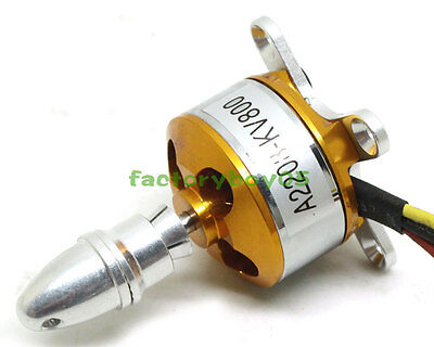A2208 KV800 Brushless Electric Motor for RC Aircraft Fixed Wing Multi-copter