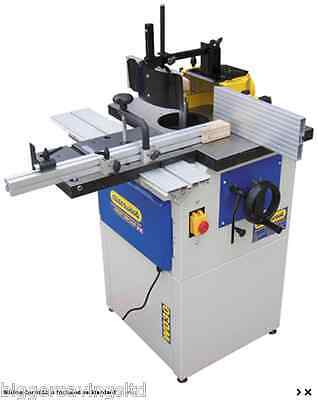 New Charnwood W030 Spindle Moulder With Sliding Tennoning Carriage