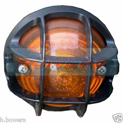 Land Rover Defender Front And Rear Light Lamp Stone Guard Grille Led Rdx Wipac