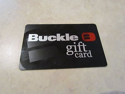 $100 GIFT CARD TO THE BUCKLE FOR $70