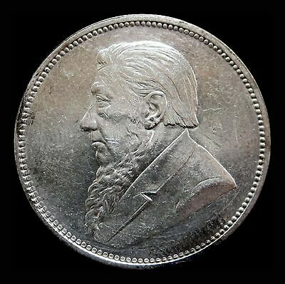 1897 Silver South Africa 2 Shillings Coin