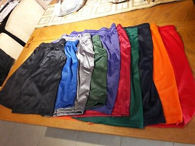 Mens athletic mesh shorts no pockets, gym, running, basketball