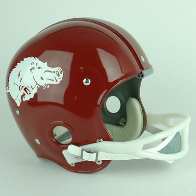 Arkansas Razorbacks Football Helmet History 6 Models