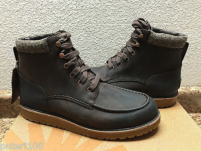 UGG MEN MERRICK STOUT WATERPROOF LEATHER Boot US 13 / EU 47 / UK 12
