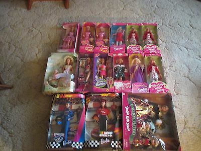LIMITED EDITION BARBIE DOLL LOT, VARIOUS COLLECTIBLES AND MODELS-FACTORY SEALED