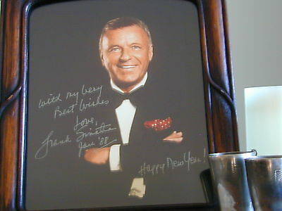 FRANK SINATRA SIGNED AUTOGRAPH PHOTO 8 X 10, free shipping