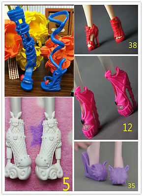 Hot Sale 5 Style Shoes Boots Monster High Doll Accessories New Outfits Gifts
