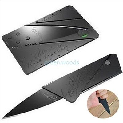 3 days for discount! Pocket Credit Knife Small innovate Safety Sharp Folding ba