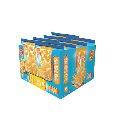 Quest Protein Chips | Box of 8 | Salt & Vinegar |