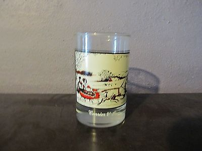 courier and ives arby's glass