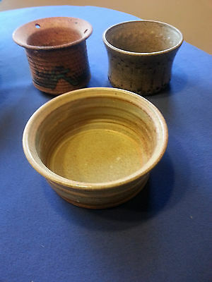 Art Pottery Collection Signed by the artists
