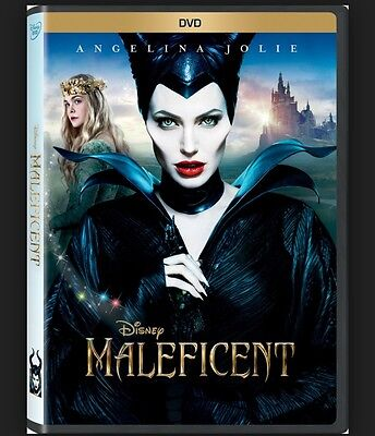 Disney MALEFICENT (DVD 2014) BRAND NEW  FREE 1st Class Ship*Priority Mail $3.00*