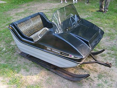 VINTAGE Arctic Cat Kat Kutter Snowmobile pull behind sled sleigh cutter